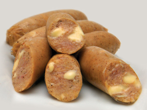 Cheese & Onion Sausages