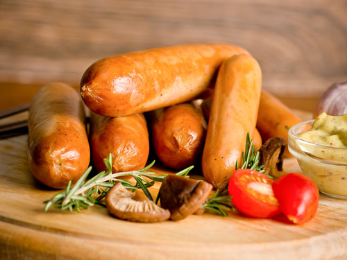 Chicken Bockwurst Sausages