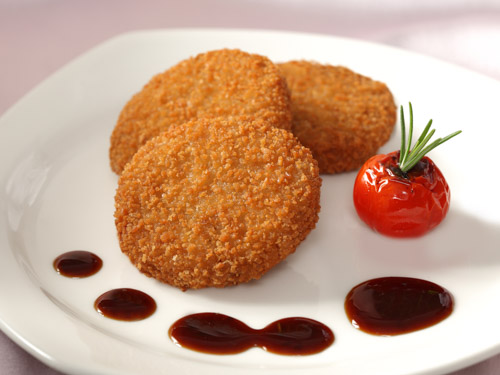 Chicken Mini Burgers
