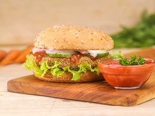 Vegetable Burger (50g)