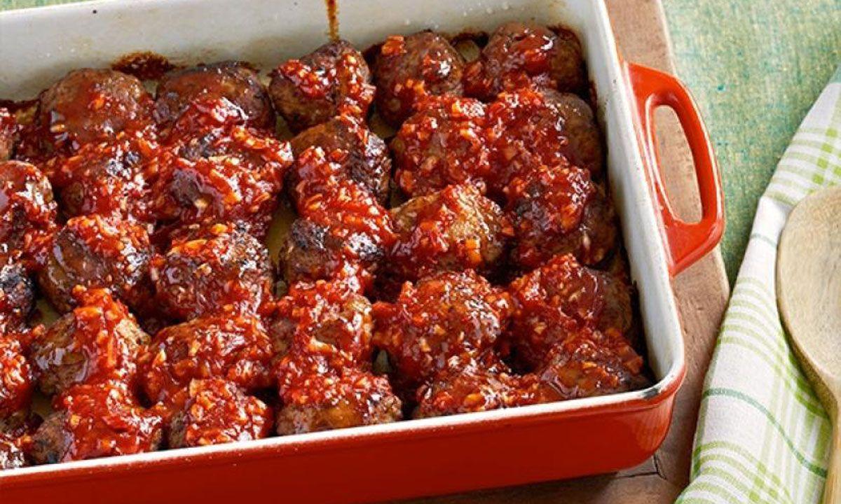 Comfort Crescent Meatballs