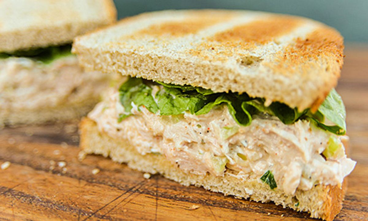 Crescent Smoked Chicken Salad
