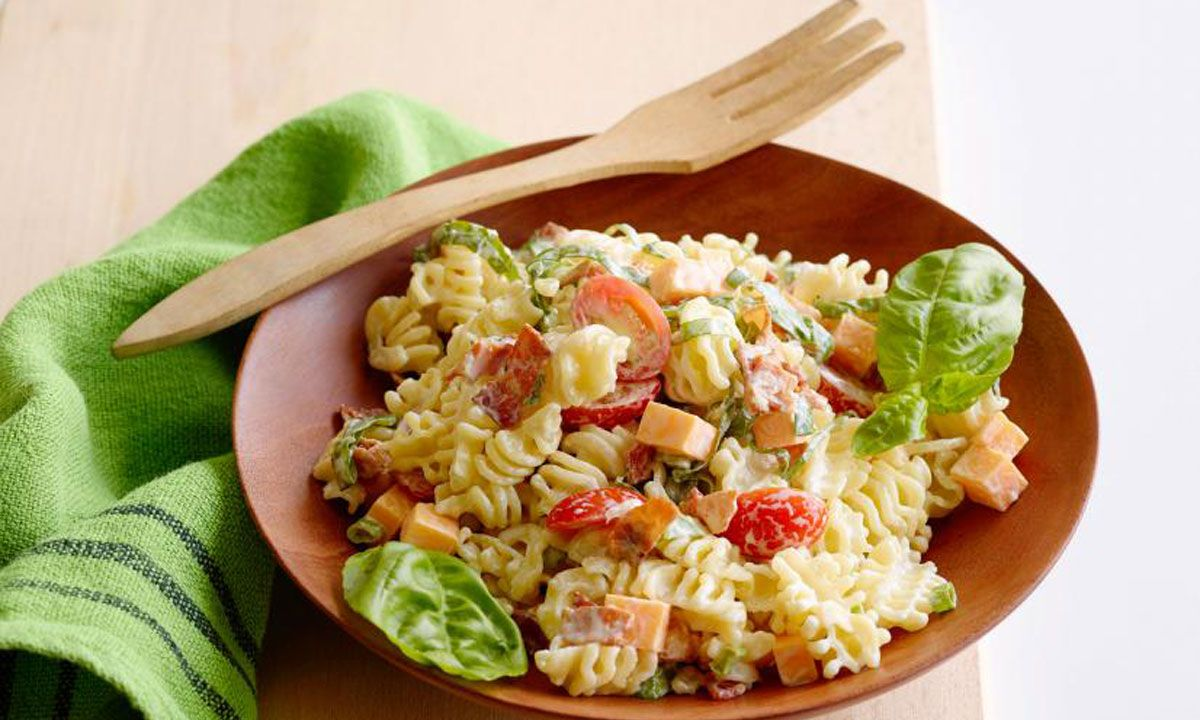 Crescent Kid-Friendly Pasta Salad