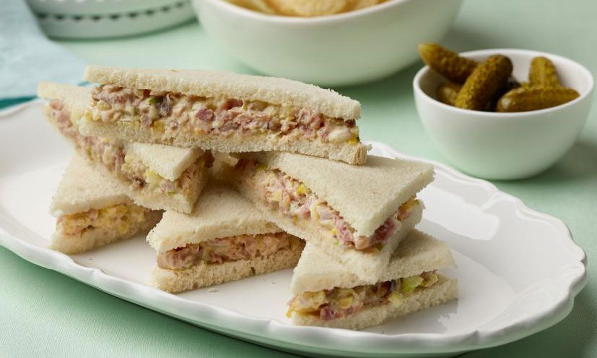 Crescent Chicken Ham Salad or Sandwich